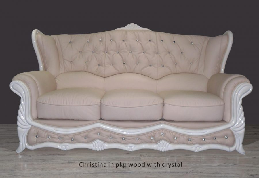 Christina in pkp wood with crystal